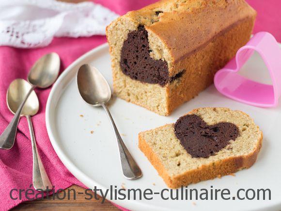 cake sans gluten coeur chocolat