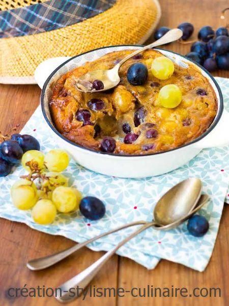 far sans gluten aux raisins