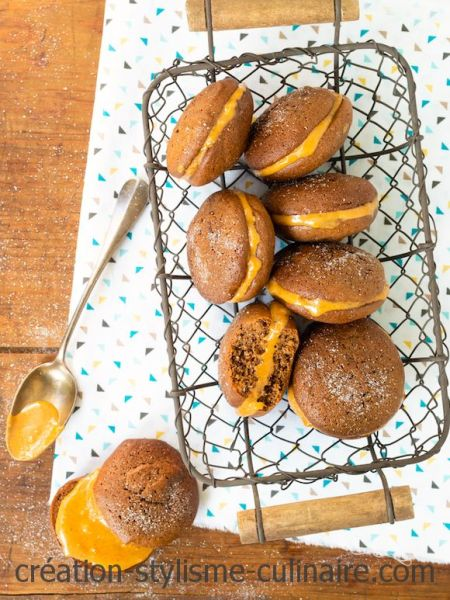 whoopies sans gluten beurre de cacahuète