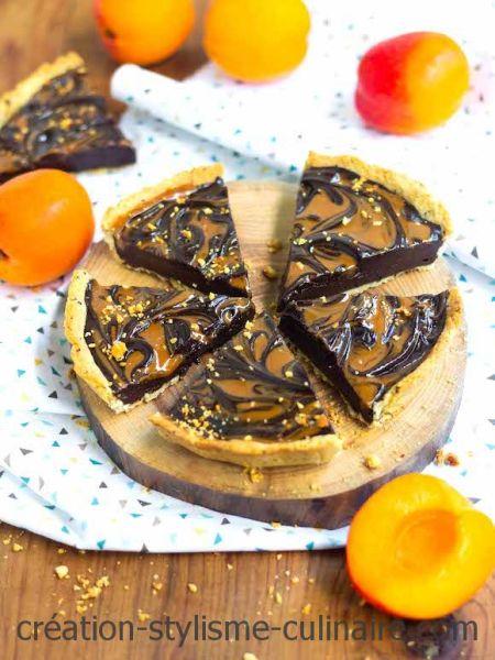 tarte au chocolat cacahuète