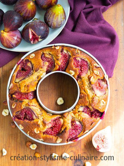 Gâteau sans gluten tout simple aux figues