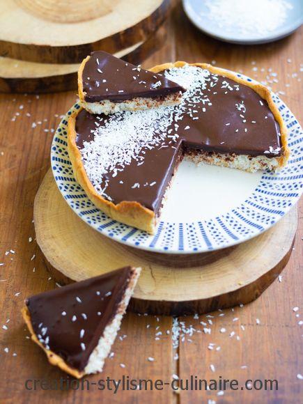 Tarte Au Chocolat Sans Oeuf : tarte, chocolat, Tarte, Chocolat