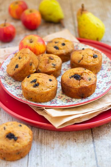 muffins sans gluten pommes raisins secs