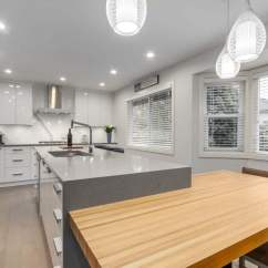 Complete Kitchen Cherry Wood Table And Chairs Port Coquitlam Jedan Brothers Contracting