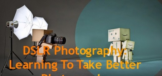 Learning to take better photographs with a DSLR camera