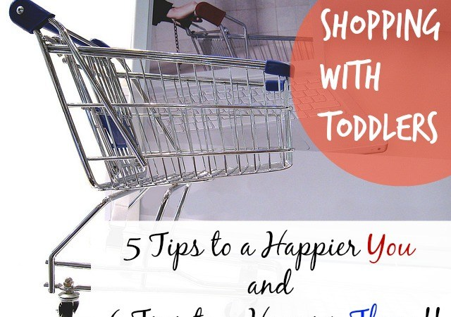 Shopping with Toddlers