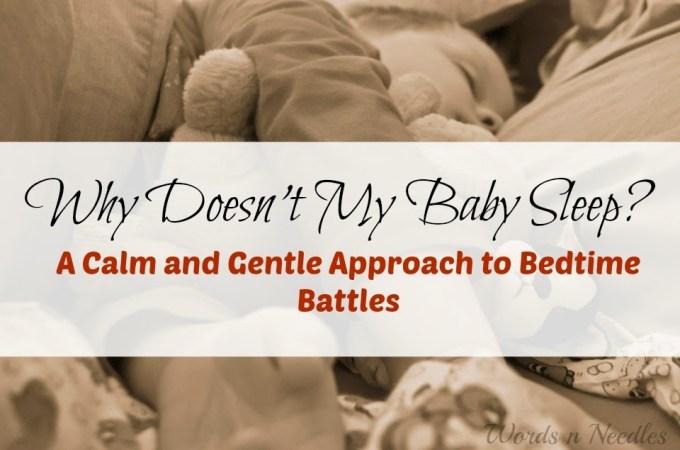 calm gentle sensory baby sleep