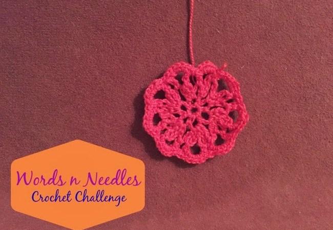 Doily Flowers Crochet Challenge