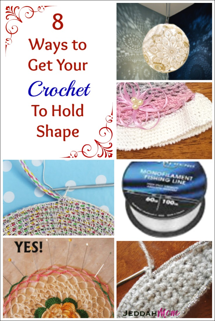 Get your crochet to hold shape JeddahMom