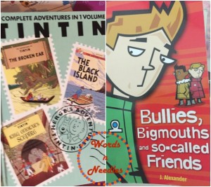 bullies books wordsnneedles