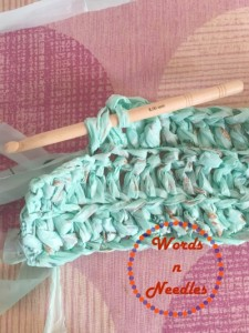 plastic bag yarn crochet