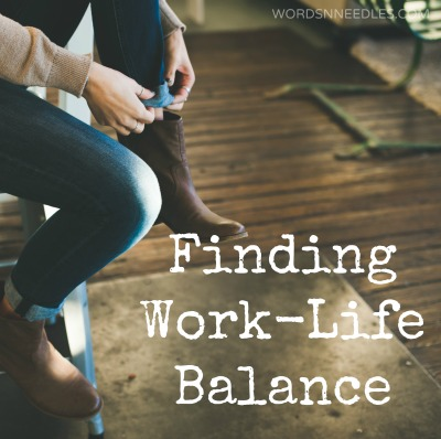 Finding Work-Life Balance as a Mom and Monthly Goals Linky