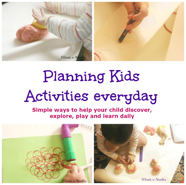planning kids activities everyday