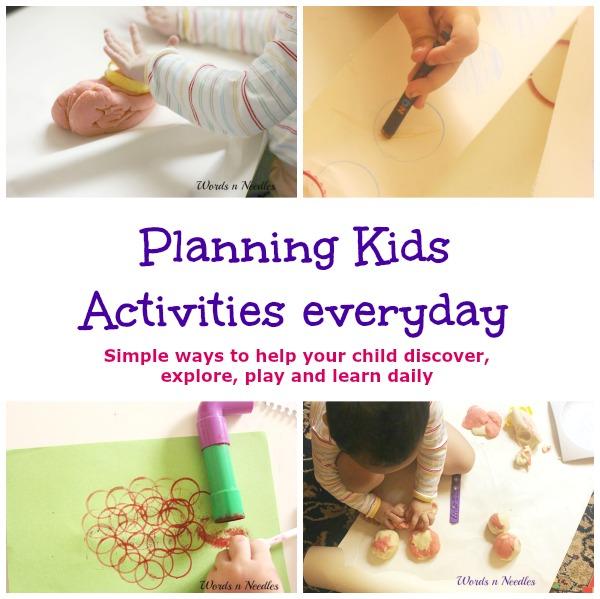 planning kids activities everyday | jeddahMOm