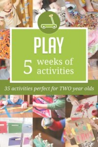 play kids activity weekly plan