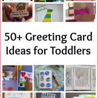 50 Greeting Card Ideas For Toddlers