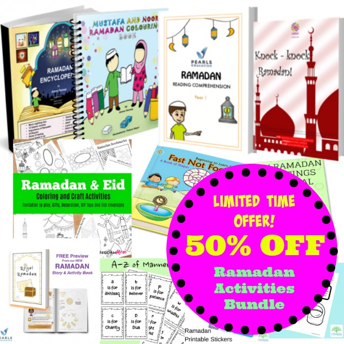 Ramadan activities book offer Buy 1 get 1 free JeddahMom