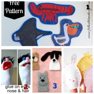 Free finger puppet ideas