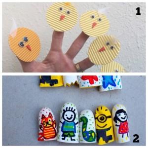 simple fun finger puppet ideas