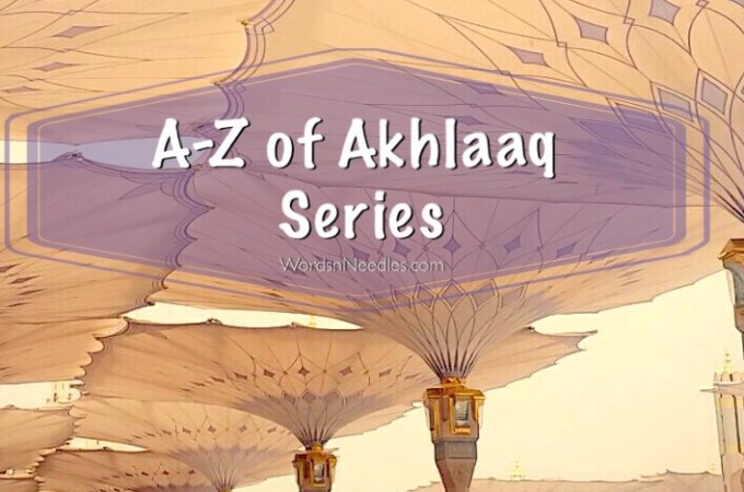 A-Z of Akhlaaq Series – Manners and Morals for Children