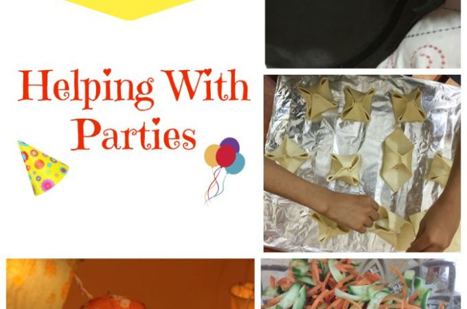 Kids in the Kitchen: Helping with Parties