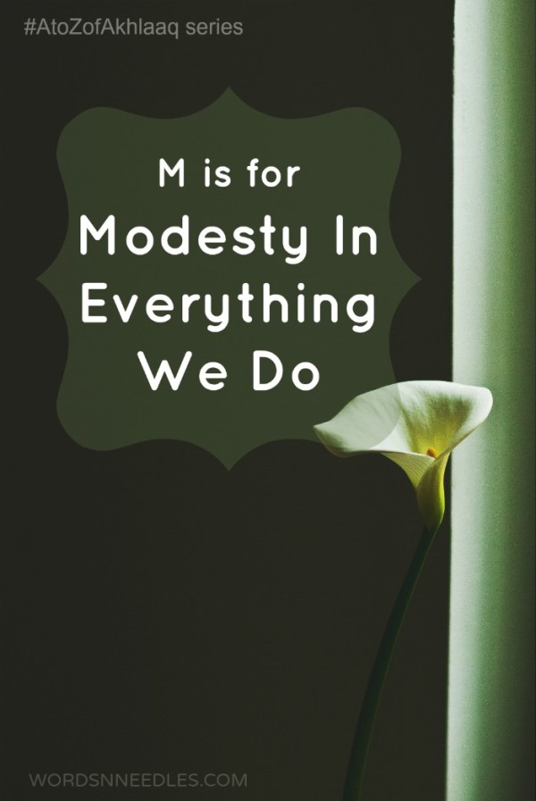 teaching modesty for children atozofakhlaaq