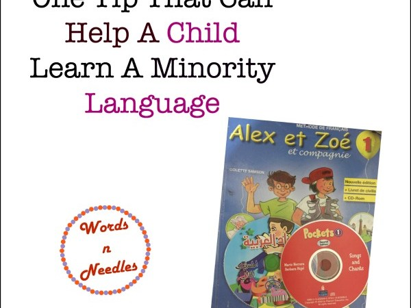 One Tip That Can Help A Child Learn A Minority Language