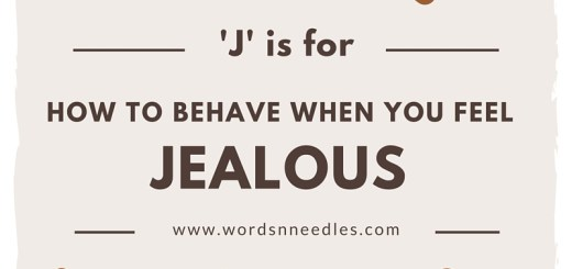 How to respond when you feel jealous Muslim Kids Islamic manners and morals Teaching children MashaAllah A-Z of Akhlaaq series WordsnNeedles