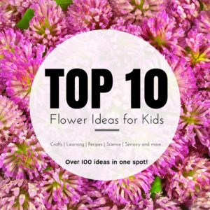 Top 10 flower projects crafts for kids simple recipes cooking
