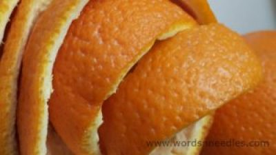 orange peel face mask 2