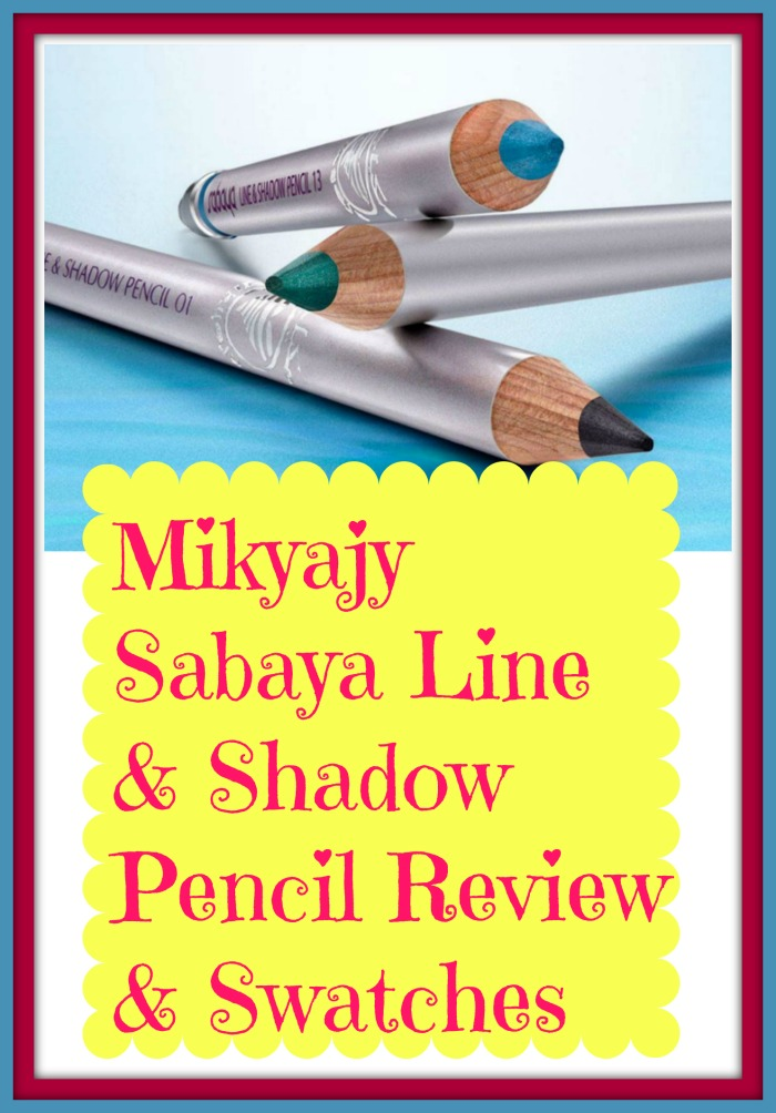 Mikyaji Sabaya eye liners and shadow pencils. Complete review of how to use it and what looks to create.