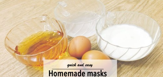 quick and easy homemade masks JeddahMom
