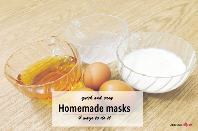 Quick and Easy Homemade Masks – 4 ways to do it!