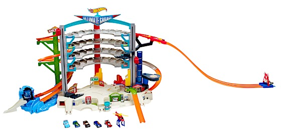 Discover mega action and big adventures with the Ultimate Garage