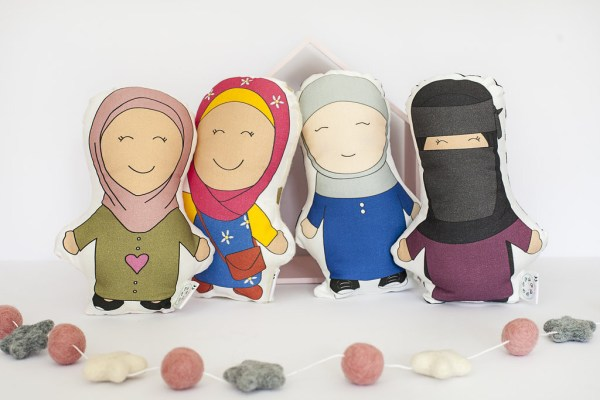mini muslim cushion dolls for islamic toys and books for kids