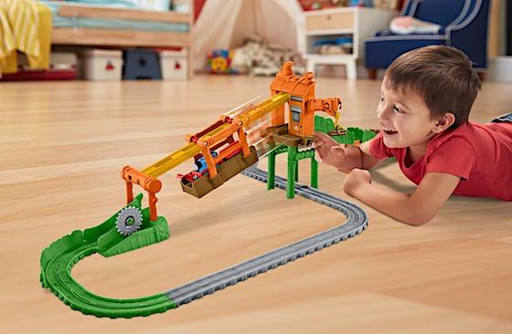thomas and train playing