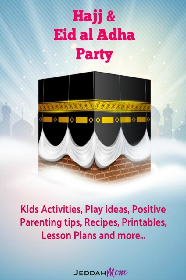 Hajj and Eid al Adha Party Crafts Kids Activities, printables, recipes, etc.