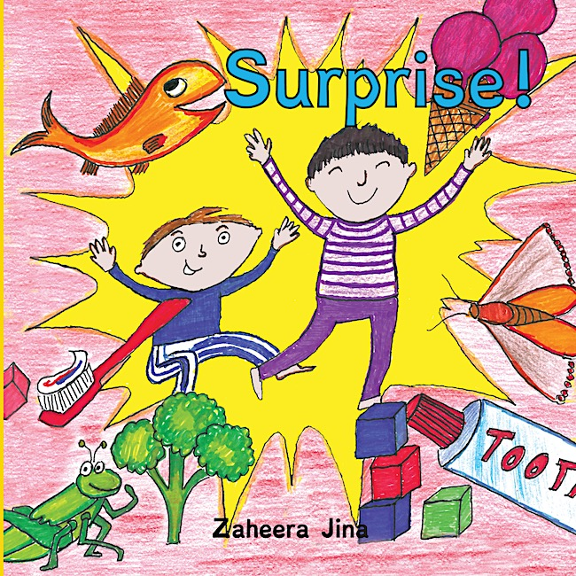 Surprise by Zaheera Jina - Book Review |JeddahMom