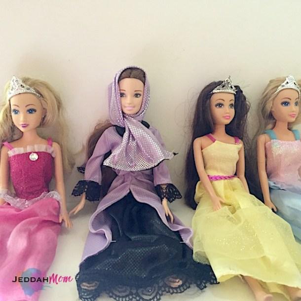 modest doll jenna muslimah doll