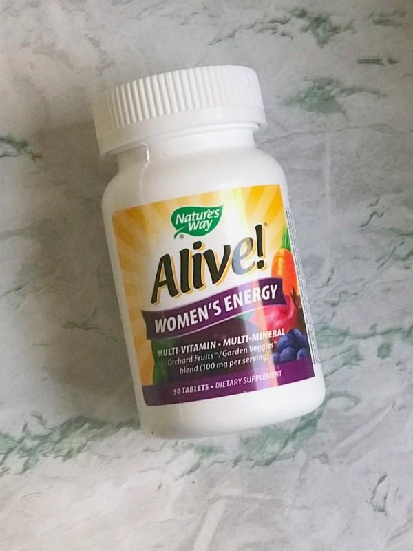 Alive Women's energy Vitamins JeddahMom
