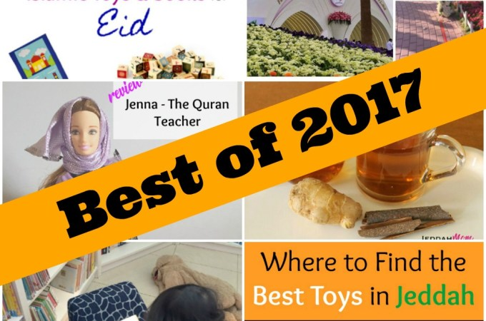 Best of Jeddah Mom Blog 2017