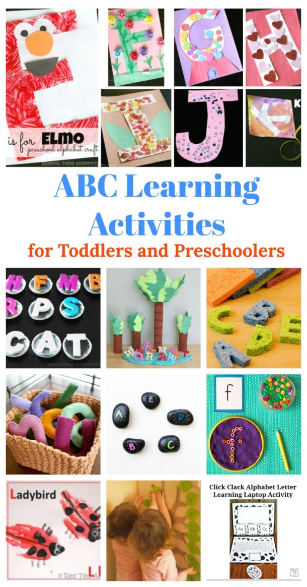 ABC learning activities for Toddlers and Preschoolers Teach alphabets through crafts Jeddah Mom