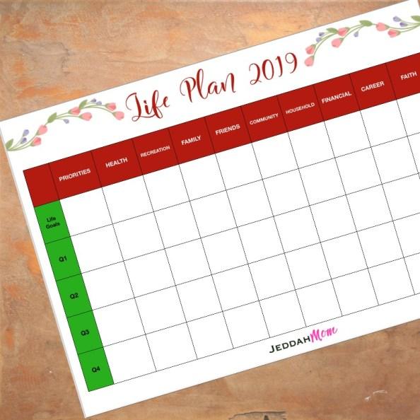 Life Plan 2019 JeddahMOm