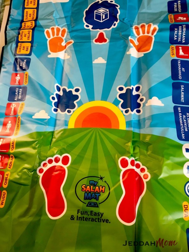 My Salah Mat Interactive prayer rug Muslim Kids
