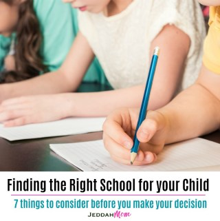 7 things to consider before choosing the right school for your child