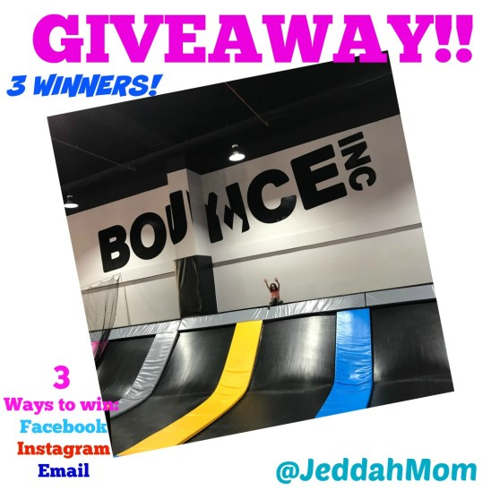 Bounce Jeddah Giveaway