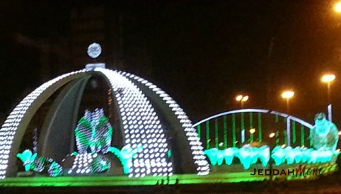 Decorations around jeddah JeddahMom