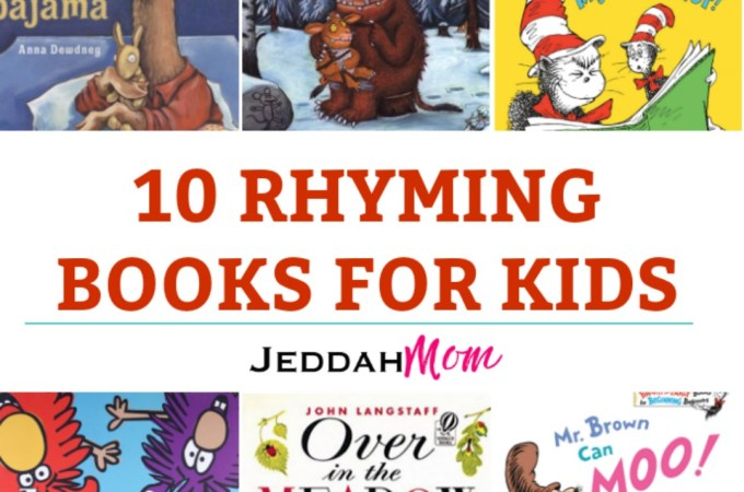 10 books about rhyme and repetition that kids find fun jeddahmom