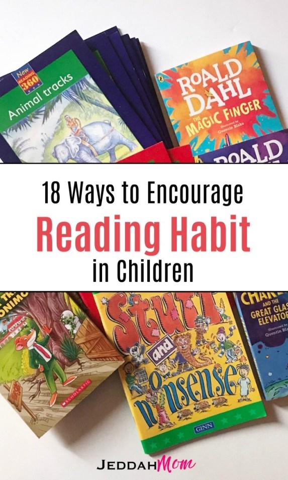 18 Ways to Encourage Reading Habit in Children