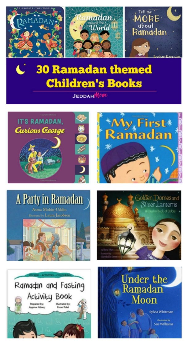 curious george 30 Children's book about Ramadan for kids jeddahMom